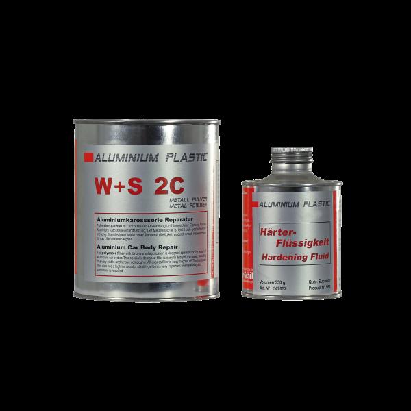 W+S 2-C Aluminium Plastic Spachtel