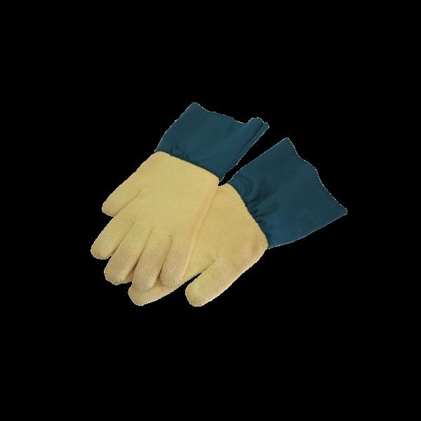 Kevlar Hitzeschutzhandschuhe mit Stulpe