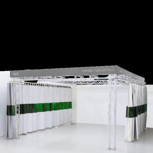 VAS 6777/1 | Trägersystem mit Vorhang