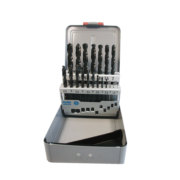 Bohrersatz 1,0-10,0mm / Steigung 0,5mm