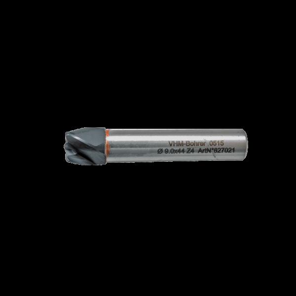 VHM-Fräser 4-schneidig Ø 9,0x44 mm