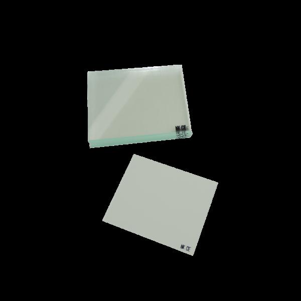 Vorsatzglas 110x90 mm nach DIN/CE