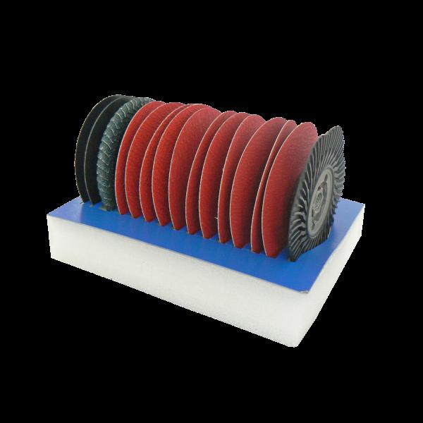 Schleif- und Trennscheiben Set, Ø 115mm