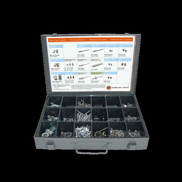 RivBox N°1 - Nieten Sortiments Box Universal