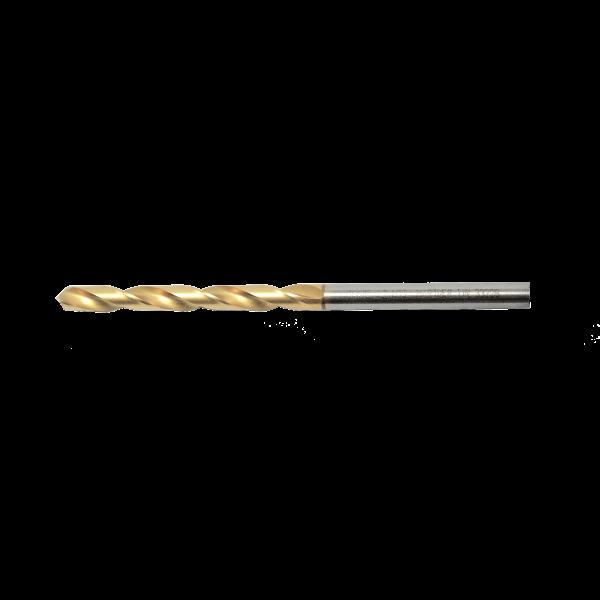 Nieten Spezialbohrer TIN Gold Ø 4,2x70mm