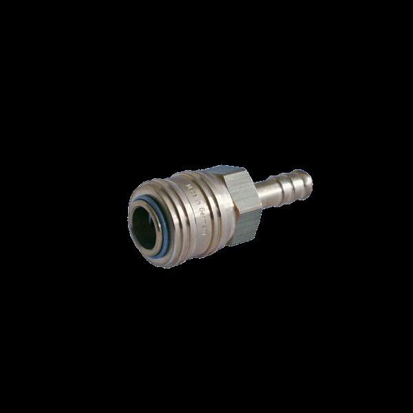 Luft-Kupplung Messing 9mm