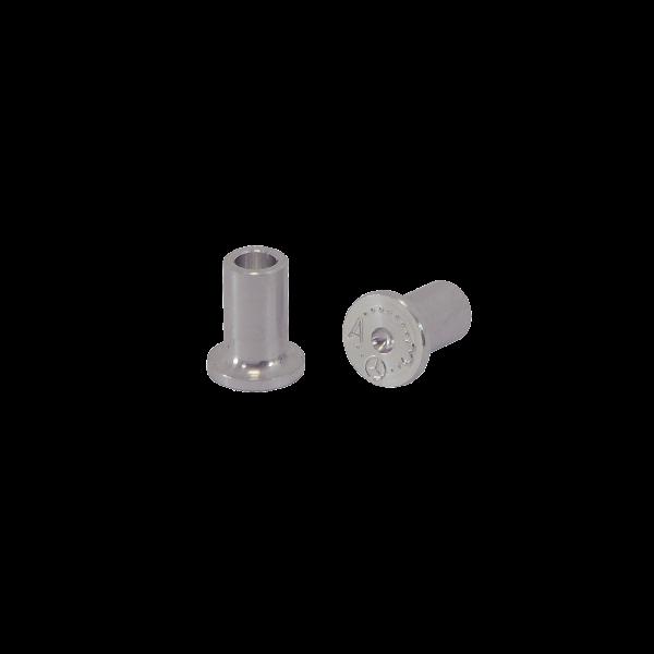 Fließ Form Niet A3 - Aluminium