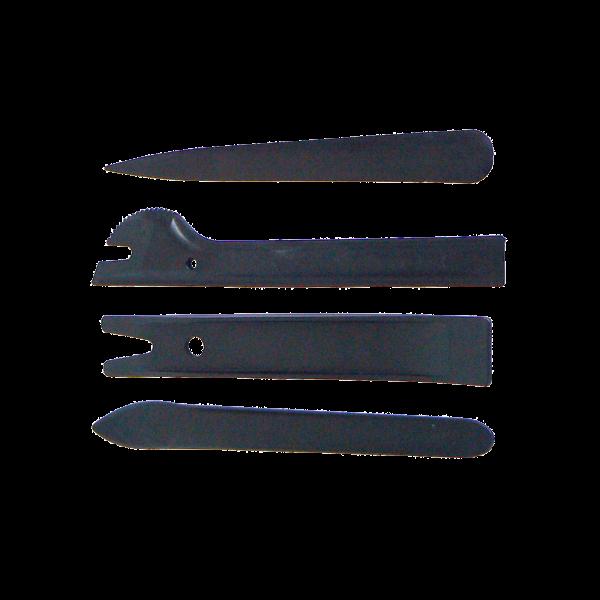 Schaber und Montagekeile 4-teilig